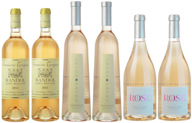 Lea & Sandeman Summer Rosé selection
