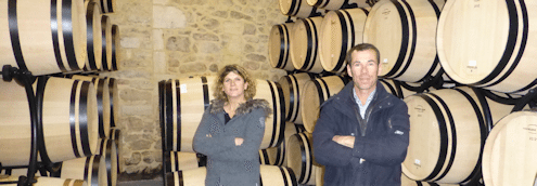 Barrel cellar for Clos Manou