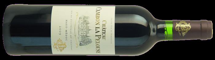 2009-CHATEAU-CAMBON-LA-PELOUSE-Cru-Bourgeois-Superieur-Haut-Medoc-Lea and Sandeman-Wine Merchants-London
