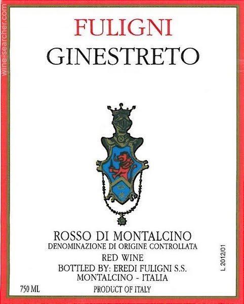 fuligni-ginestreto-rosso-di-montalcino-tuscany-italy-lea and sandeman wine merchants