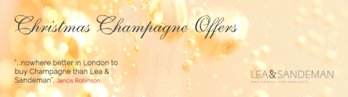 Lea & Sandeman Christmas Champagne Offers