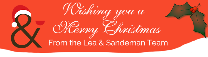 Merry Christmas from Lea and Sandeman