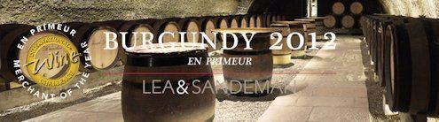 2012 Burgundy en Primeur