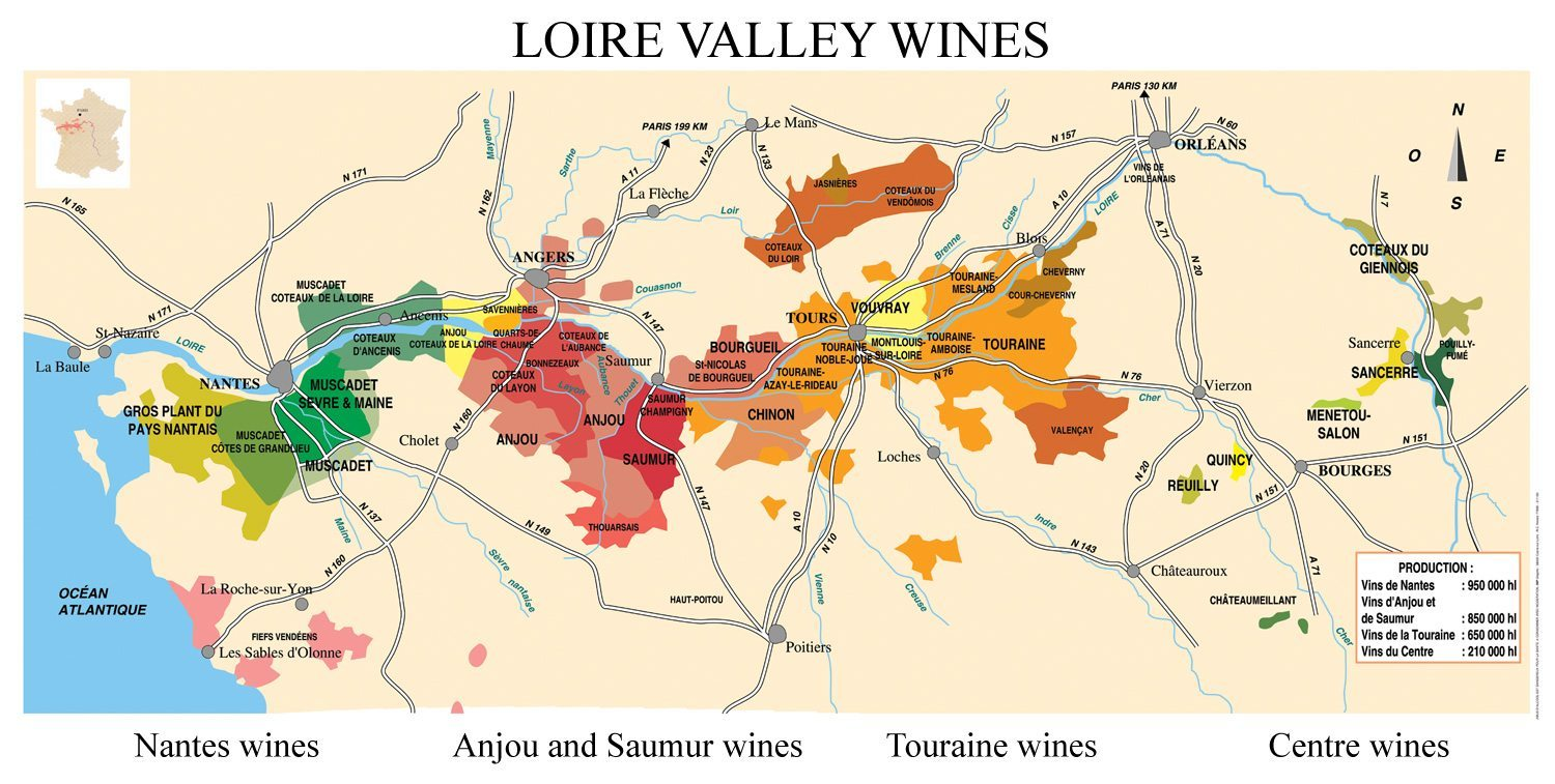 Loire Valley Wine Region