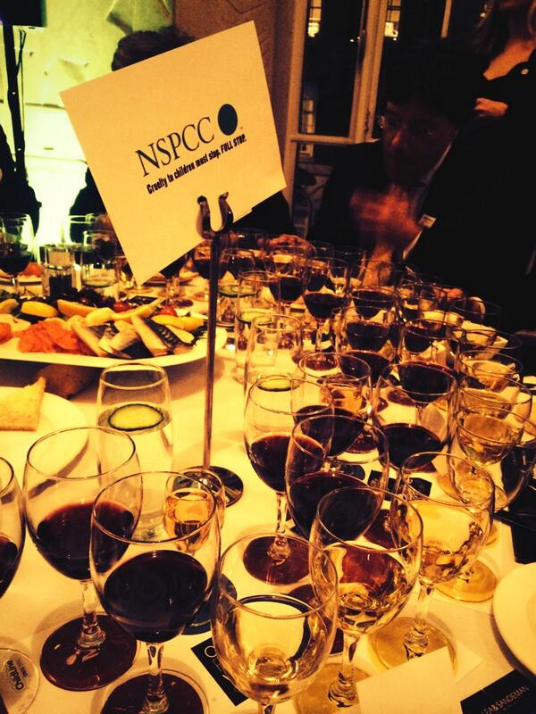 NSPCC City Fine Wine Challenge- 28th February 2014