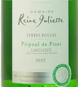 2013 Picpoul de Pinet - Domaine Reine Juliette