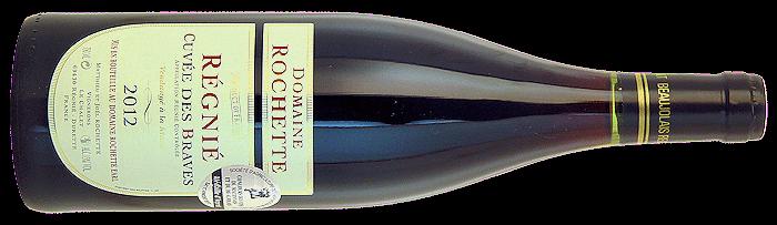 2012 RÉGNIÉ Cuvée des Braves Domaine Rochette