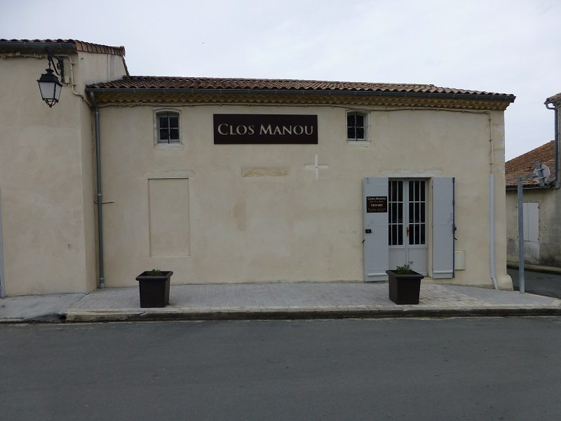 The unassuming façade of Clos Manou
