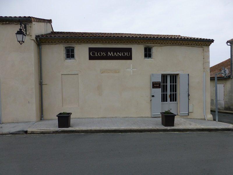 The unassuming façade of Clos Manou