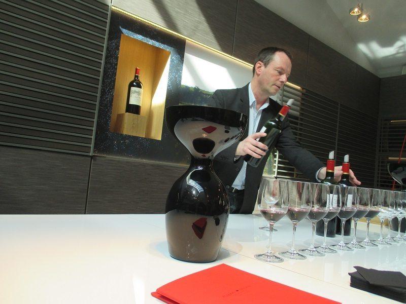 Vincent Millet, winemaker at Calon Segur & Chateau Capbern