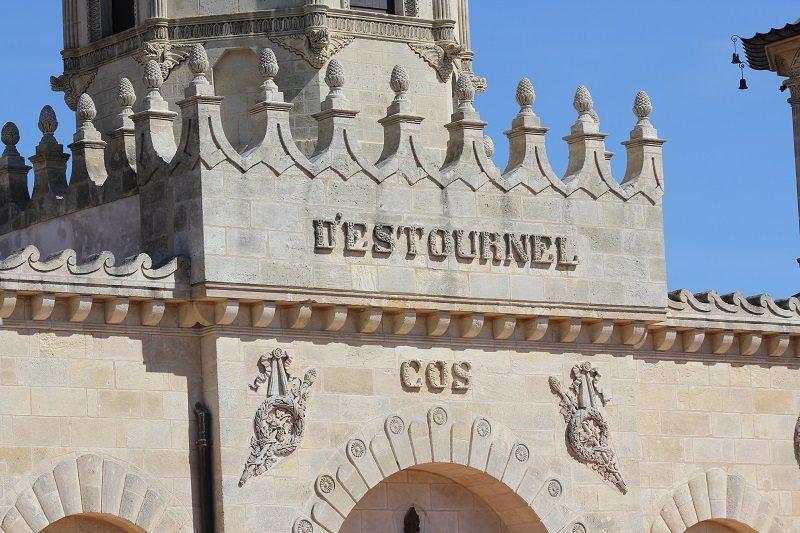 Cos d'Estournel's elaborate facade