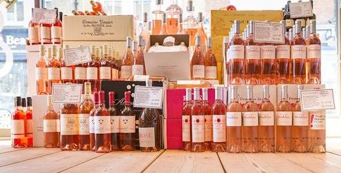 Rosé in Shop