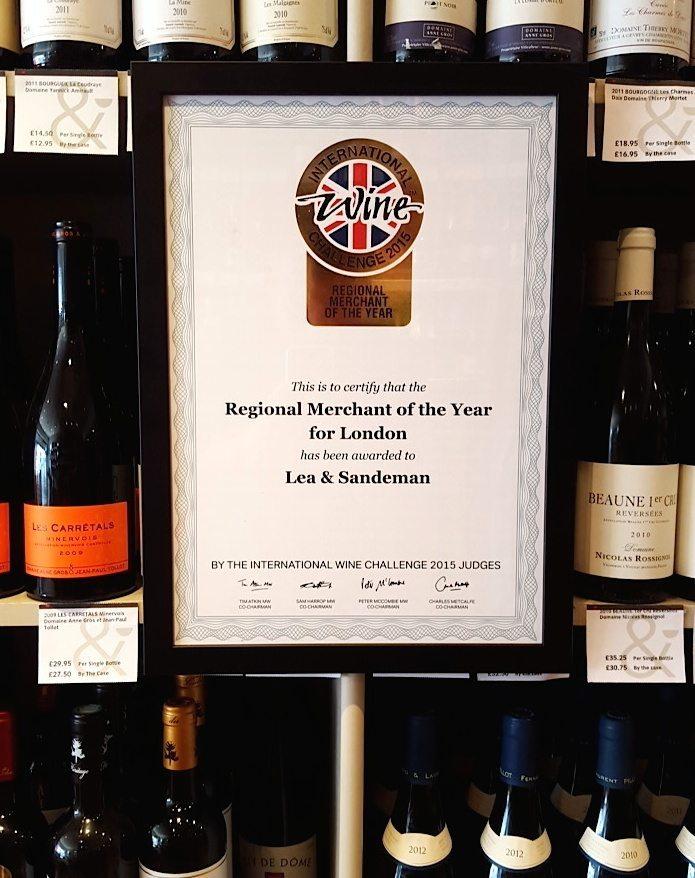 2015 IWC Award