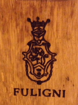 Detail from the barrel in Fuligni's cellar