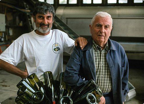 Adhémar et Francis Boudin