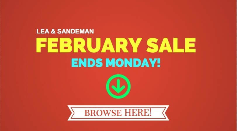 February Sale Ends Monday
