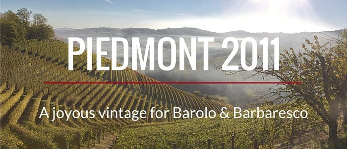 A joyous vintage for Barolo & Barbaresco