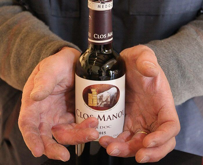 Clos Manou - hand-made wine700