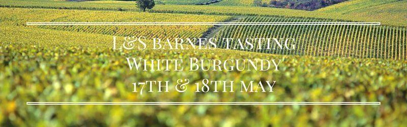 Barnes White Burgundy Tasting