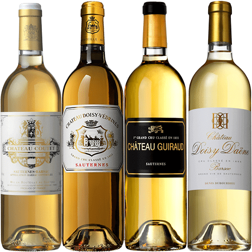 Mixed case of 2015 Sauternes