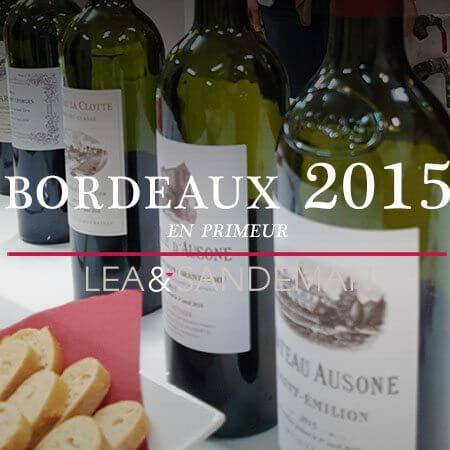2015 Bordeaux En Primeur -  Ausone etc