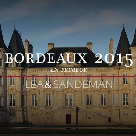 2015 Bordeaux En Primeur -  PB