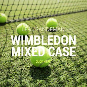 Wimbledon Mixed Case of Doubles