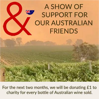 Australian Bushfires vineyard