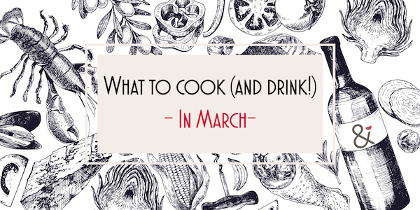 cook drink march banner