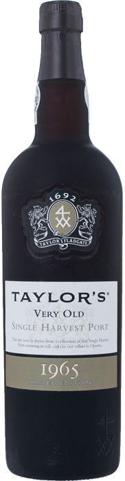 1965 TAYLOR Very Old Single Harvest, Lea & Sandeman