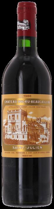 1986 CHÂTEAU DUCRU BEAUCAILLOU 2ème Cru Classé Saint Julien, Lea & Sandeman