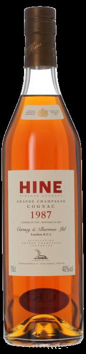 1987 HINE Grande Champagne, Lea & Sandeman