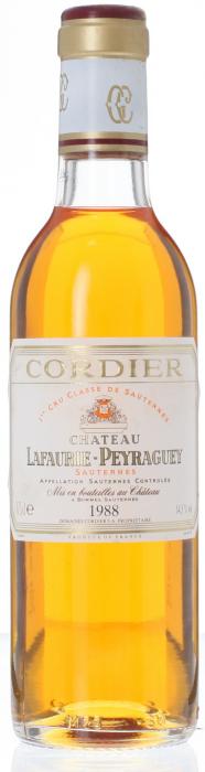 1988-CHÂTEAU-LAFAURIE-PEYRAGUEY-1er-Cru-Classé-Sauternes