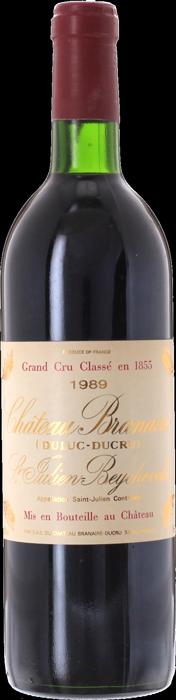 1989 CHÂTEAU BRANAIRE DUCRU 4ème Cru Classé Saint Julien, Lea & Sandeman