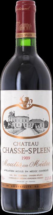 1989 CHÂTEAU CHASSE SPLEEN Cru Bourgeois Exceptionnel Moulis-en-Médoc, Lea & Sandeman
