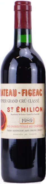 1989 CHÂTEAU FIGEAC 1er Grand Cru Classé Saint Emilion, Lea & Sandeman