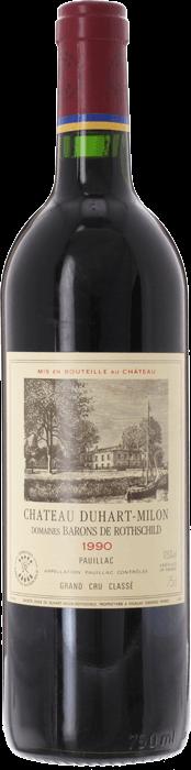 1990 CHÂTEAU DUHART MILON ROTHSCHILD 4ème Cru Classé Pauillac, Lea & Sandeman