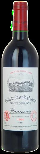 1990-CHÂTEAU-GRAND-PUY-LACOSTE-5ème-Cru-Classé-Pauillac