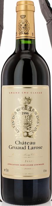 1996 CHÂTEAU GRUAUD LAROSE 2ème Cru Classé Saint Julien, Lea & Sandeman