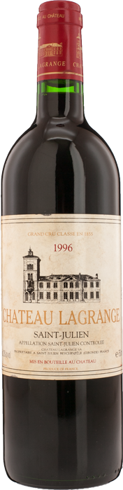 1996 CHÂTEAU LAGRANGE 3ème Cru Classé Saint Julien, Lea & Sandeman