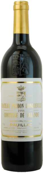1996-CHÂTEAU-PICHON-LALANDE-2ème-Cru-Classé-Pauillac