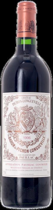 1996 CHÂTEAU PICHON LONGUEVILLE BARON 2ème Cru Classé Pauillac, Lea & Sandeman