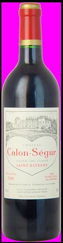 2000-CHÂTEAU-CALON-SÉGUR-3ème-Cru-Classé-Saint-Estèphe