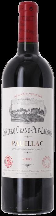 2000 CHÂTEAU GRAND PUY LACOSTE 5ème Cru Classé Pauillac, Lea & Sandeman