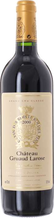 2000 CHÂTEAU GRUAUD LAROSE 2ème Cru Classé Saint Julien, Lea & Sandeman