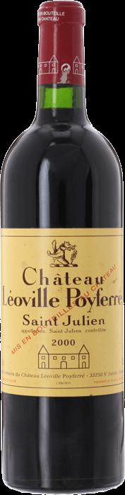 2000 CHÂTEAU LÉOVILLE POYFERRÉ 2ème Cru Classé Saint Julien, Lea & Sandeman