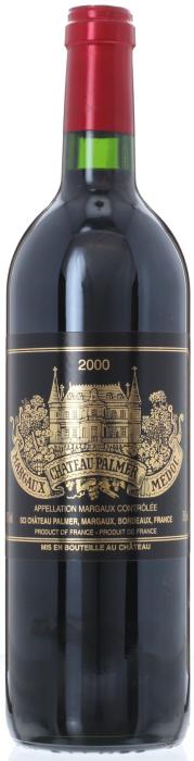 2000 CHÂTEAU PALMER 3ème Cru Classé Margaux, Lea & Sandeman