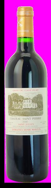 2000-CHÂTEAU-SAINT-PIERRE-4ème-Cru-Classé-Saint-Julien