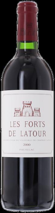 2000 FORTS DE LATOUR du Château Latour Pauillac, Lea & Sandeman