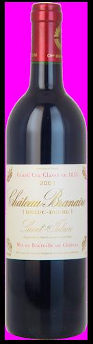 2001-CHÂTEAU-BRANAIRE-DUCRU-4ème-Cru-Classé-Saint-Julien